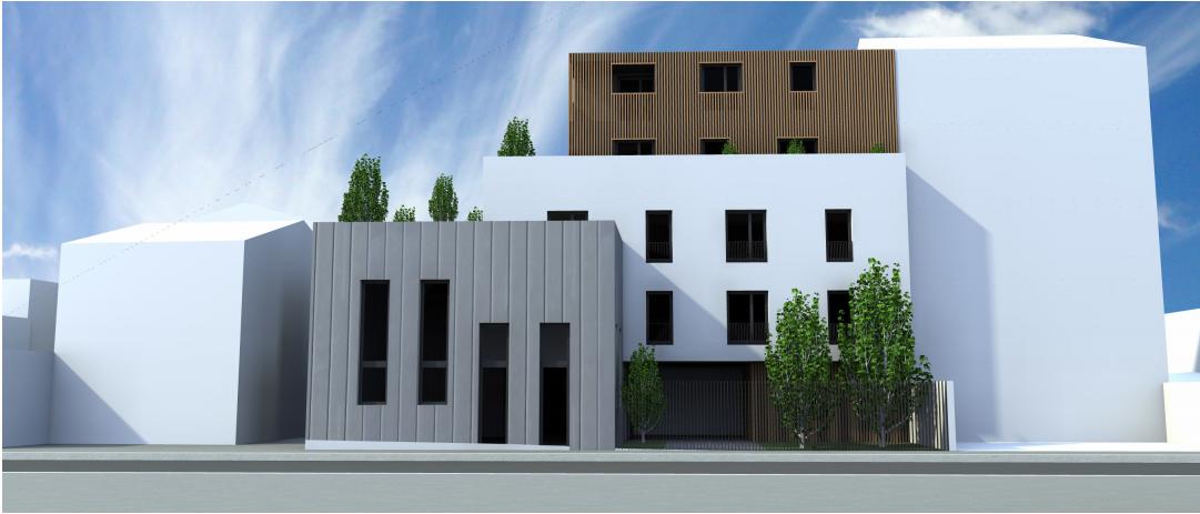collectif 10 logements bagnolet 93 kalegos ing nierie bureau d 39 tudes thermiques rt2012. Black Bedroom Furniture Sets. Home Design Ideas